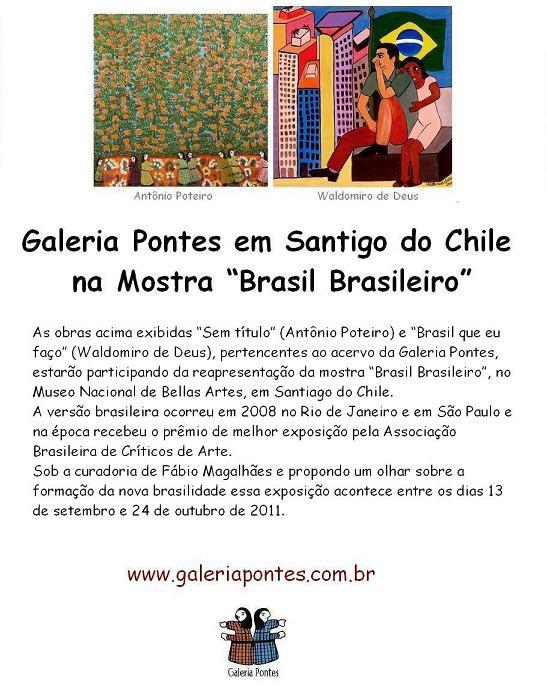 Mostra Brasil Brasileiro em Santigo do Chile